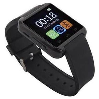 Chytré hodinky GoClever Chronos Colour 2 (GCWCHRC2) černý