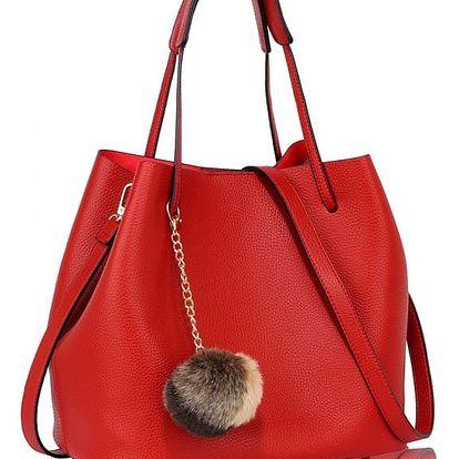 Dámská červená kabelka Boobi 190