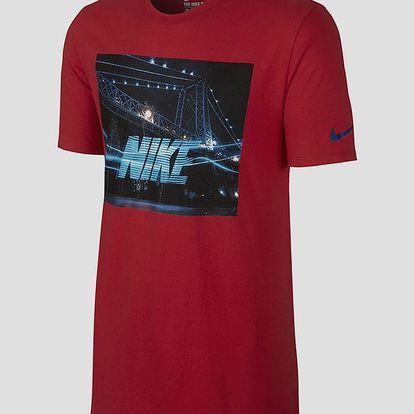 Tričko Nike TEE-FUTURA BRIDGE Červená