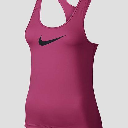 Tílko Nike W NP TANK Růžová