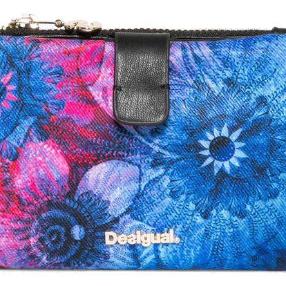 Desigual modrá peněženka Julia Carlin