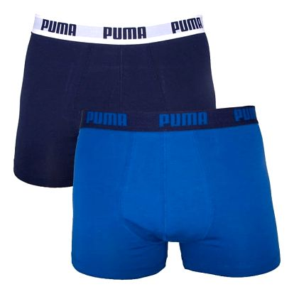 2PACK Pánské Boxerky Puma True Blue Long L