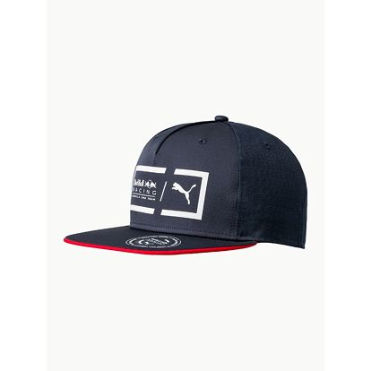 Kšiltovka Puma RBR Lifestyle Flatbrim Cap Modrá