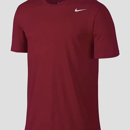 Tričko Nike DRI-FIT SS VERSION 2.0 TEE Červená