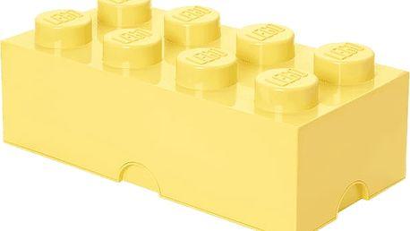 LEGO® Úložný box velikost 4 světle žlutá