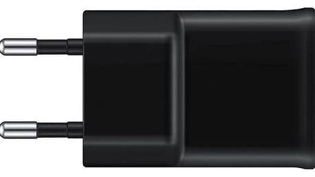 Nabíječka do sítě Samsung EP-TA12U, 1x USB, 2A + MicroUSB kabel (EP-TA12EBEUGWW) černá + Doprava zdarma