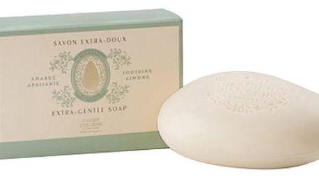 Panier des Sens Extra jemné mýdlo 150 g - mandle, zelená barva, krémová barva