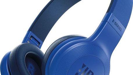 Sluchátka JBL E45BT (6925281918100) modrá + DOPRAVA ZDARMA