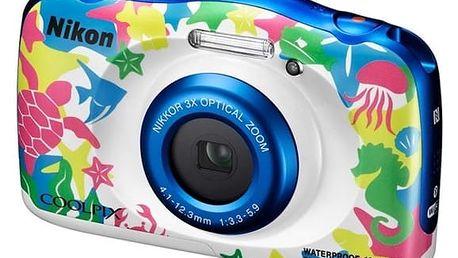 Digitální fotoaparát Nikon Coolpix W100 BACKPACK KIT (VQA014K001) + DOPRAVA ZDARMA