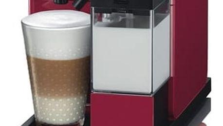 Espresso DeLonghi Nespresso Lattissima Touch EN550.R červené + DOPRAVA ZDARMA