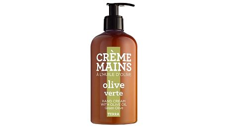 COMPAGNIE DE PROVENCE Krém na ruce Zelené olivy 300 ml, hnědá barva, plast