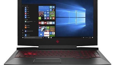 Notebook HP Omen 15-ce005nc (1VA35EA#BCM) černý + DOPRAVA ZDARMA
