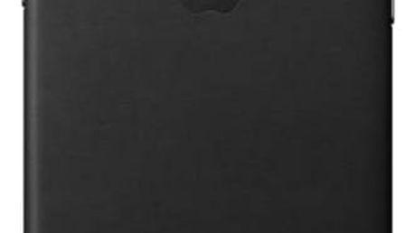 Kryt na mobil Apple Leather Case pro iPhone X (MQTD2ZM/A) černý + Doprava zdarma