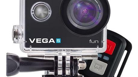 Outdoorová kamera Niceboy VEGA 5 fun + dálkové ovládání (vega-5-fun) černá + DOPRAVA ZDARMA
