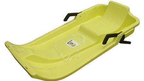 CorbySport UFO 28335 Dětské boby - žluté