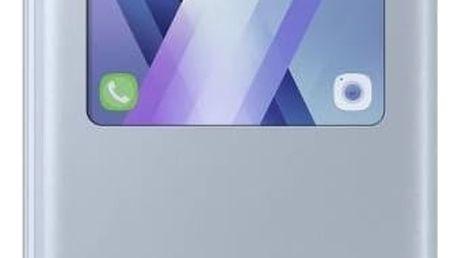 Pouzdro na mobil flipové Samsung S-View pro Galaxy A5 2017 (EF-CA520P) (EF-CA520PLEGWW) modré