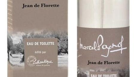 Lothantique Toaletní voda Jean de Florette 100 ml, béžová barva, sklo