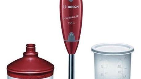 Ponorný mixér Bosch MSM65PER červený + DOPRAVA ZDARMA