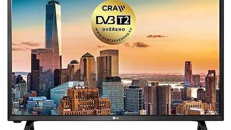 Televize LG 32LJ500V černá + Doprava zdarma
