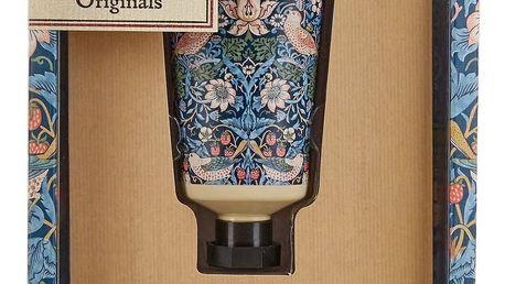 MORRIS & Co. Dárková sada péče o ruce Strawberry Thief, modrá barva, plast, papír