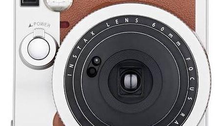 Digitální fotoaparát Fuji Instax mini 90 hnědý + Doprava zdarma