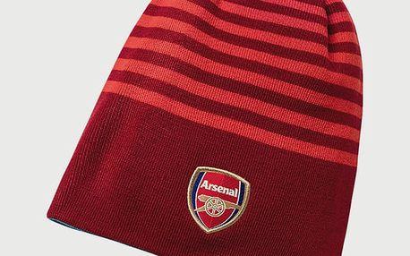 Čepice Puma Arsenal Reversible Beanie High Červená