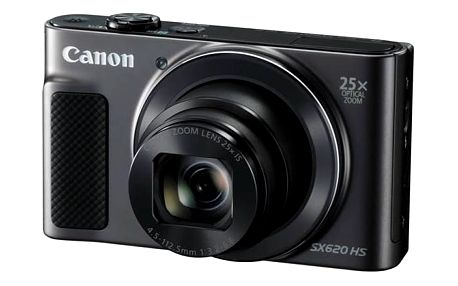 Digitální fotoaparát Canon PowerShot SX620 HS (1072C002) černý Pouzdro foto Canon DCC-1500 (zdarma) + Doprava zdarma