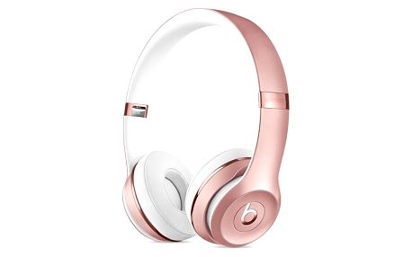 Sluchátka Beats Solo3 Wireless On-Ear - růžově zlaté (MNET2ZM/A) růžová + DOPRAVA ZDARMA