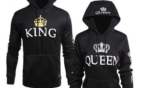 Královna a Král mikina pro pár