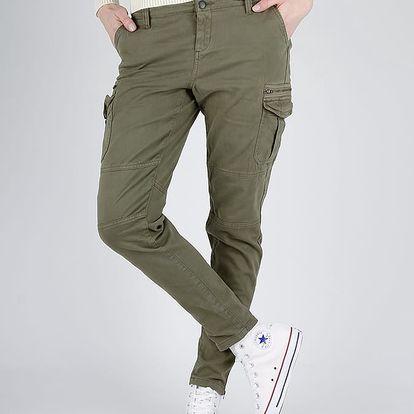 Kalhoty Superdry SUPER SKINNY CARGO PANT Zelená
