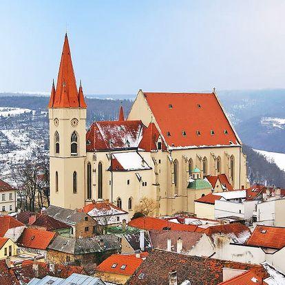 Jižní Morava v rodinném vinařství u Znojma včetně degustace s neomezenou konzumací vína a snídaně