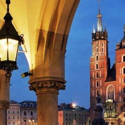Pobyt v Krakově kousek od centra - celoročně!