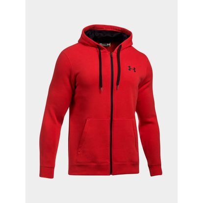 Mikina Under Armour Rival Fitted Full Zip Červená