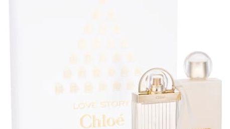 Chloe Love Story dárková kazeta pro ženy parfémovaná voda 50 ml + tělové mléko 100 ml