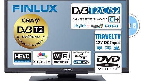 Televize Finlux 24FDM5660 černá + DOPRAVA ZDARMA