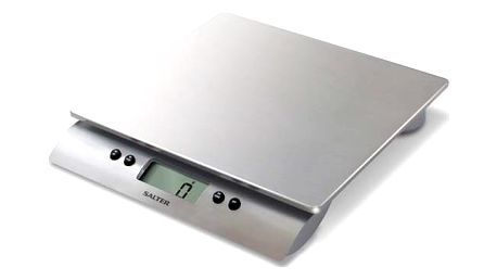 Kuchyňská váha Salter 3013 SSSVDR stříbrná + Doprava zdarma