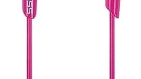 Špuntová sluchátka Koss KEB30IP, růžová