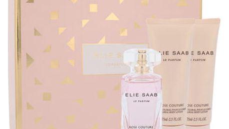 Elie Saab Le Parfum Rose Couture EDT dárková sada W - EDT 50 ml + tělové mléko 2x75 ml