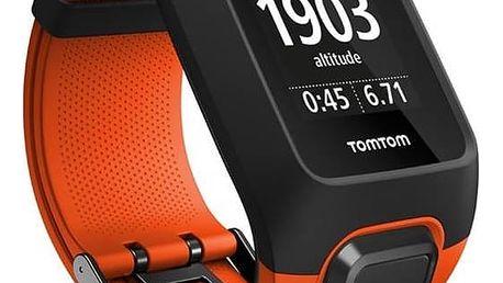 GPS hodinky Tomtom Adventurer Cardio + Music (1RKM.000.00) oranžové + Doprava zdarma