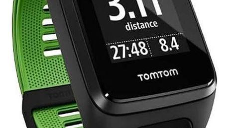 GPS hodinky Tomtom Runner 3 (L) (1RL0.001.00) černé/zelené + Doprava zdarma