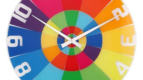 Nextime Rainbow 8129 nástěnné hodiny