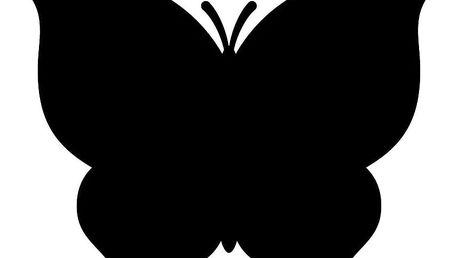 Dekorační samolepka Ambiance Motýlek