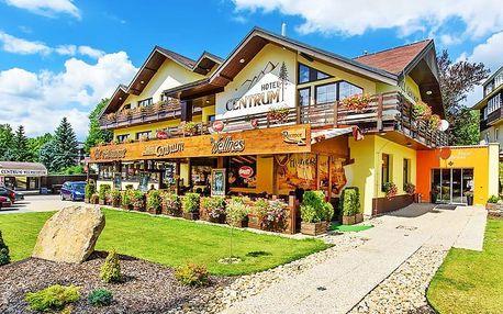 Harrachov ve 4* hotelu v srdci města s kartou výhod a polopenzí, i varianty s bohatým wellness balíčkem