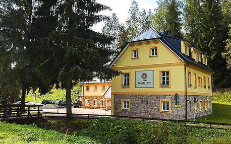 Tři romantické dny ve Skalním mlýně v Adršpachu