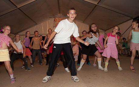 Taneční tábor na Vysočině