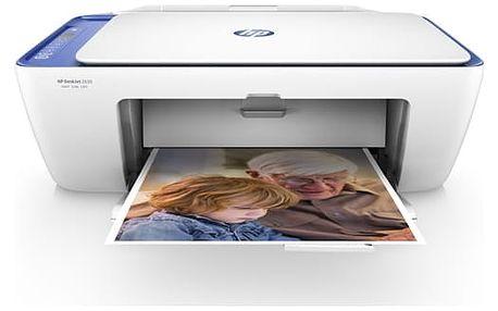 Tiskárna multifunkční HP DeskJet 2630 All-in-One (V1N03B#BHE) bílá/modrá Software F-Secure SAFE, 3 zařízení / 6 měsíců v hodnotě 979 Kč