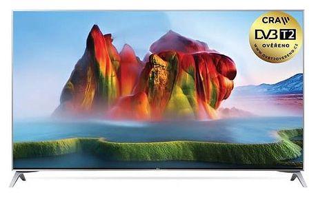 Televize LG 55SJ800V stříbrná + Doprava zdarma