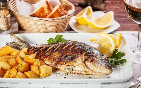 Neomezená degustace čerstvých ryb pro 2 osoby