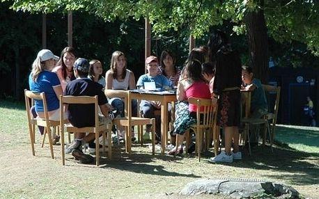 Easy English camp na Vysočině