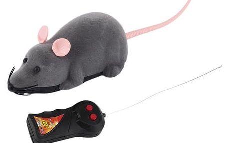 Myš pro kočky na ovládání